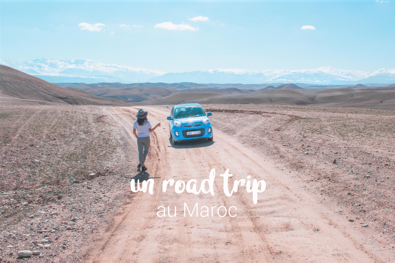 voyage maroc road trip