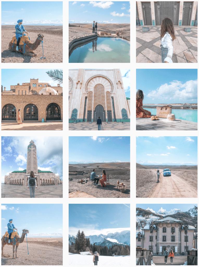 Incroyable Avoir un beau feed Instagram ! - Blog Voyage - Amoureux du Monde TL-91