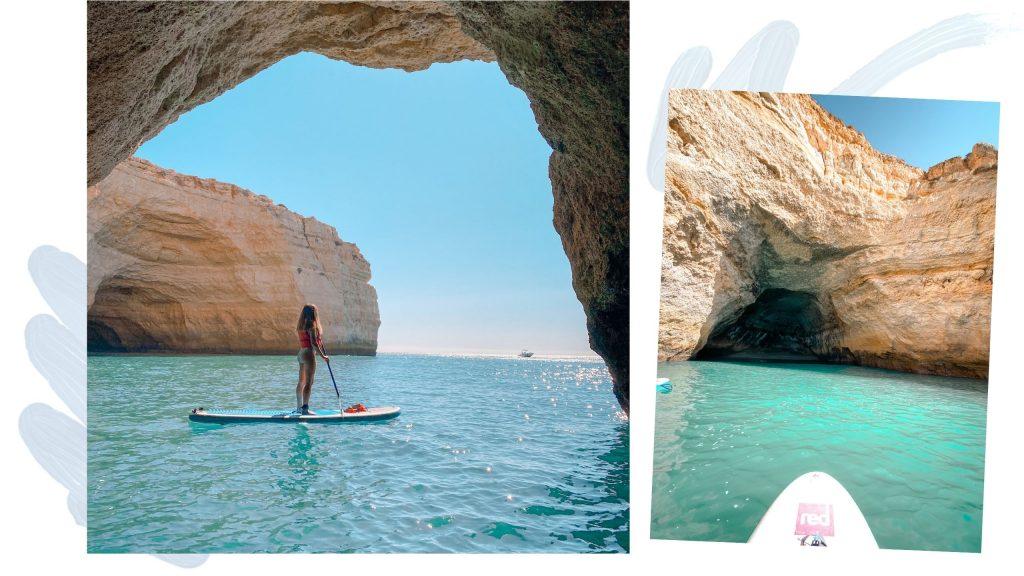 paddle grotte de benagil