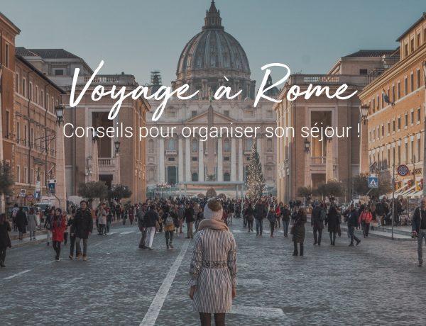 préparer son voyage à rome