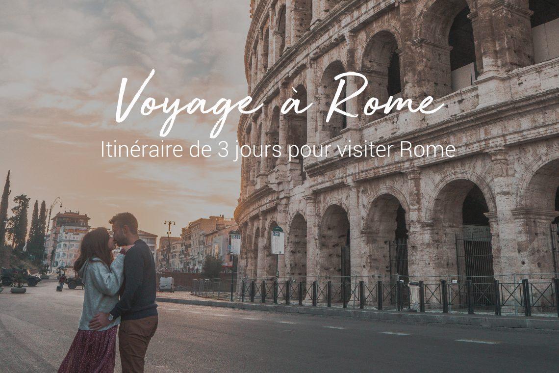 visiter rome en 3 jours