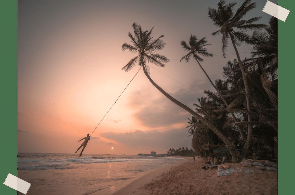plages du Sri Lanka
