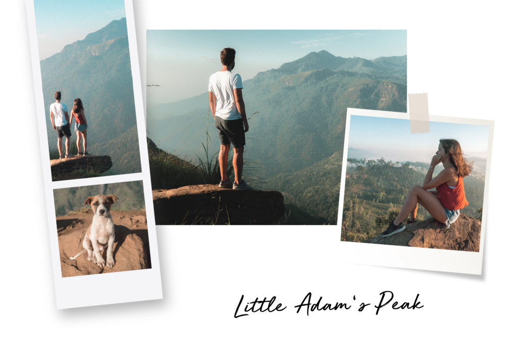 randonnée Little Adam's peak