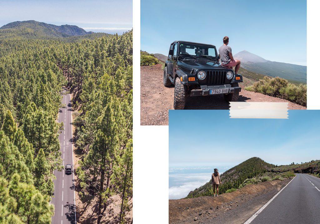 itineraire road trip tenerife
