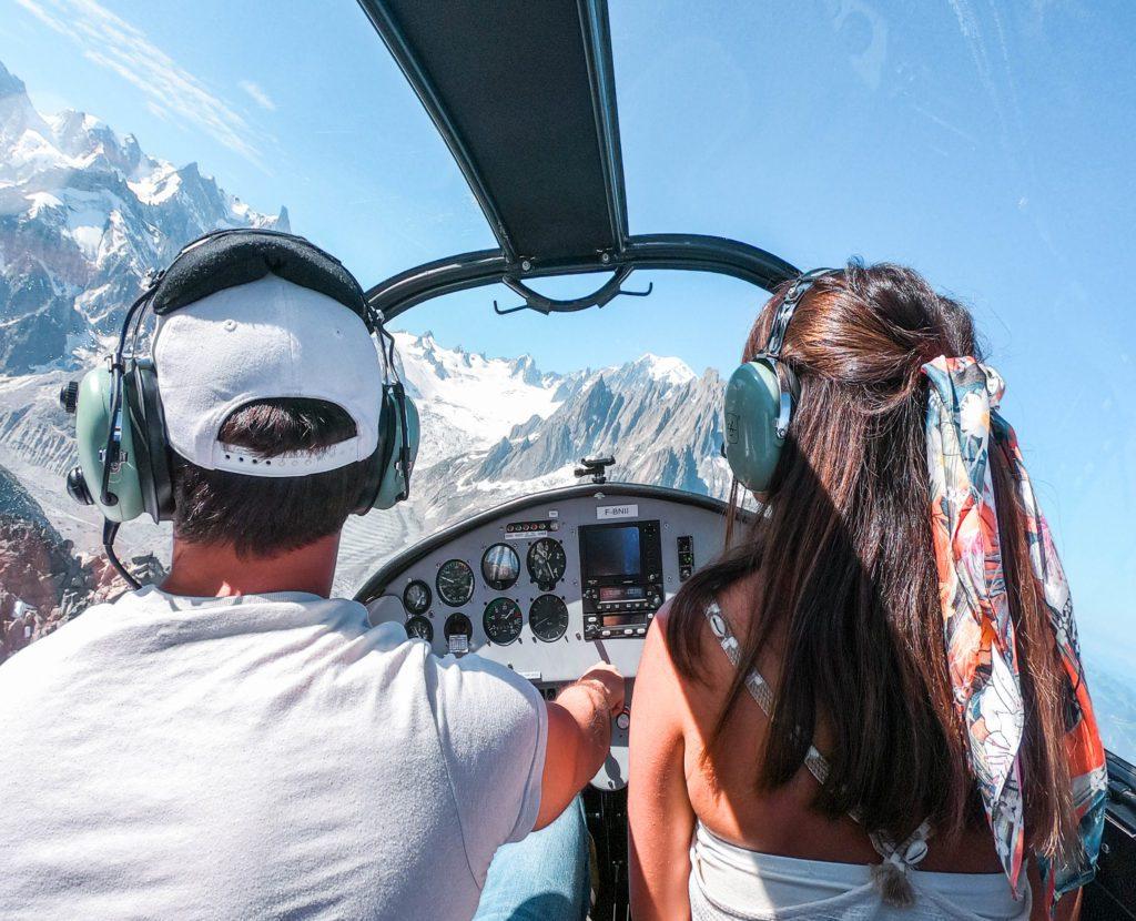 megeve avion mont blanc