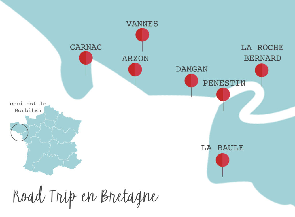 itinéraire Bretagne voyage