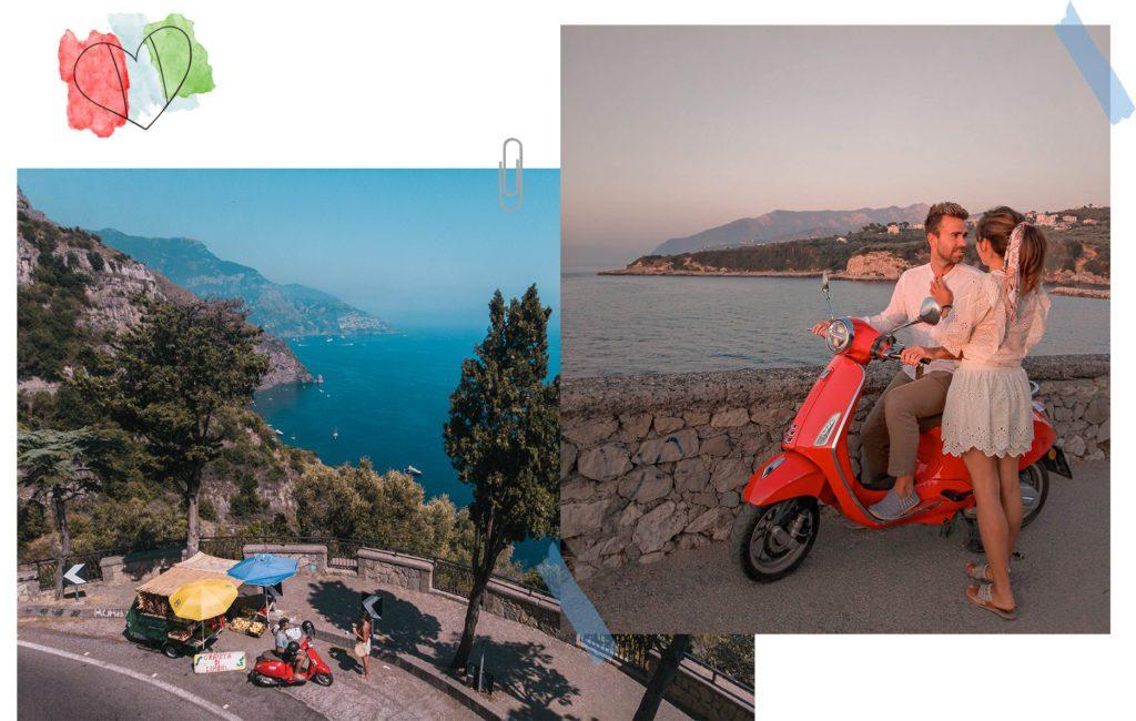 road trip sur la cote amalfitaine itineraries
