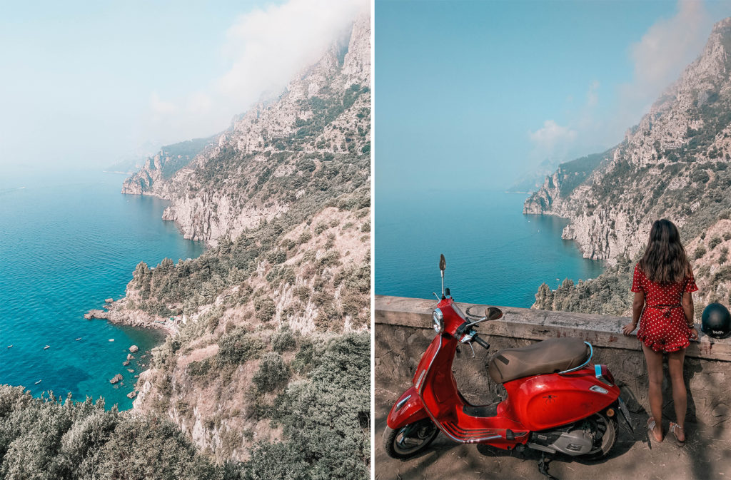 road trip sur la cote amalfitaine