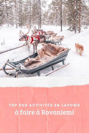 que faire en Laponie