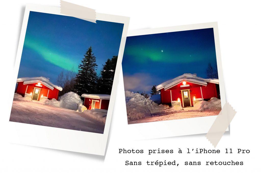 photographier aurores boreales
