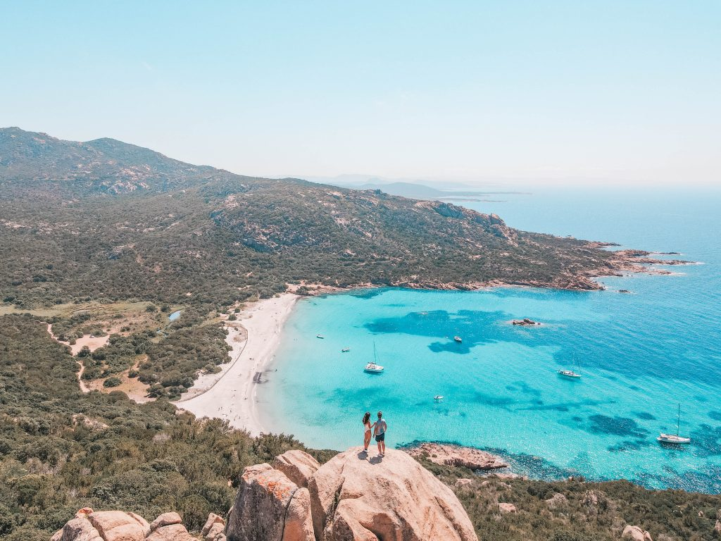 road trip in Corsica