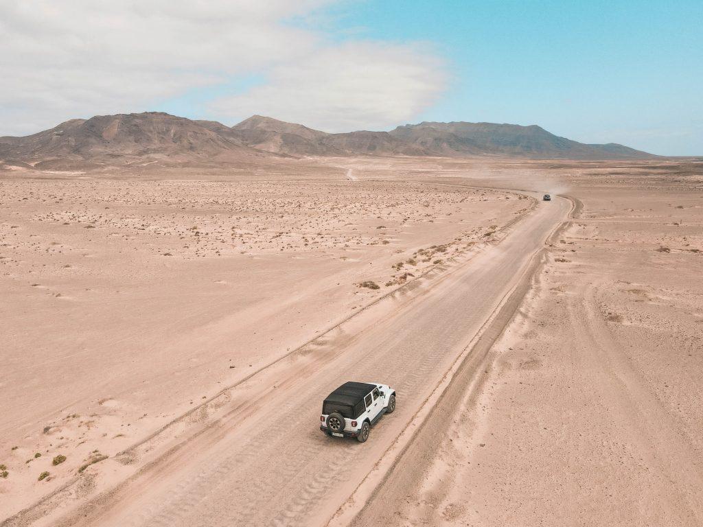 itinéraire road trip fuerteventura